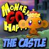Scimmia andare felice - il castello gioco