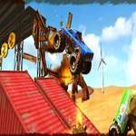 Monster Truck Impossible Track Plane Simulator spel