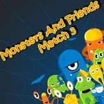 Monsters And Friends Match 3 jeu