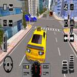 Modern City Taxi Car Simulator game