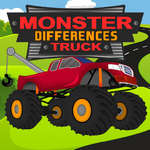 Monster Truck Differences jeu