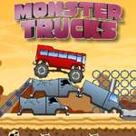 Monster Trucks Challenge spel