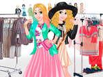 Modern Princess Wardrobe game