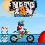 Moto X3M Pool Party game