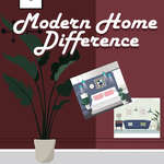 Modern Home Difference game