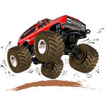 Mémoire monster trucks jeu