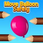 Move Balloon Safely game