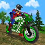 Motorrad Stunt Super Hero Simulator Spiel