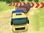 Modern OffRoad Uphill Truck De conducere joc