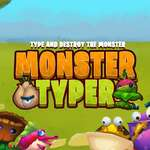 Monster Typer spel