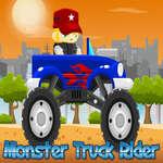 De Ruiter van de Vrachtwagen van het monster spel