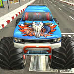 Monster Truck City Parkeren spel