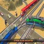 Mountain Uphill Passenger Train Simulator game