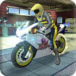 Motorbike Simulator Stunt Racing game