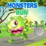 Los monstruos corren juego