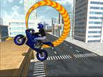 Moto City Stunt spel