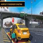 Modern City Taxi Service Simulator game