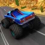 Чудовище камион екстремни състезания игра