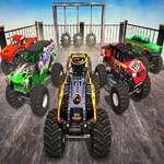 Monster Камион невъзможна каскадьор песен игра