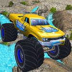 Състезание за скорост на камион чудовище игра
