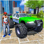 чудовище камион каскади шофиране симулатор игра