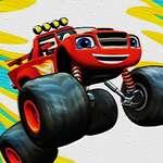 Monster Trucks Ruedas Ocultas juego