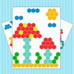 Mozaik puzzle művészet játék