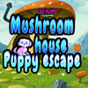 Mushroom House Puppy Escape game