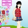 My Flowery Dressup game