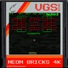 Neon Bricks 4K game