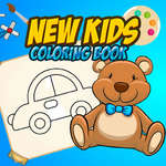New Kids Coloring Book game