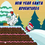 New Year Santa Adventures game