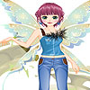 Nice angel dress up game