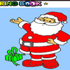 nice Santa Claus coloring game