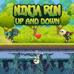 Ninja Run Up and Down jeu