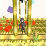 Ninja loopt 3D spel