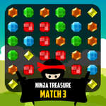 Ninja Treasure Match 3 game