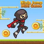 Ninja Jump Minispiel