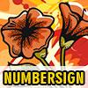 Objetos ocultado NumberSign juego