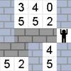 Numerikus labirintus játék
