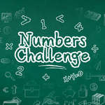 Numbers Challenge game