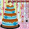 NY tortu dekorácie hra
