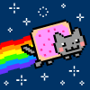 Nyan Cat FLY spel