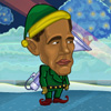 Obama vs télapó játék
