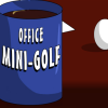 Office-mini golf játék
