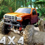 Camion de Monster Hill offroad jeu