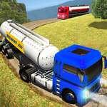 off road Ropný tanker Transport Truck hra
