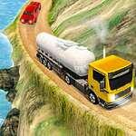 Olajszállító szállító teherautó játék