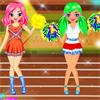 Olympischen Spiele Cheerleader