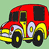Old time car coloring game